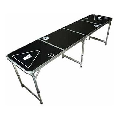 Portable Folding Beer Pong / Flip Cup Table (8-Foot)