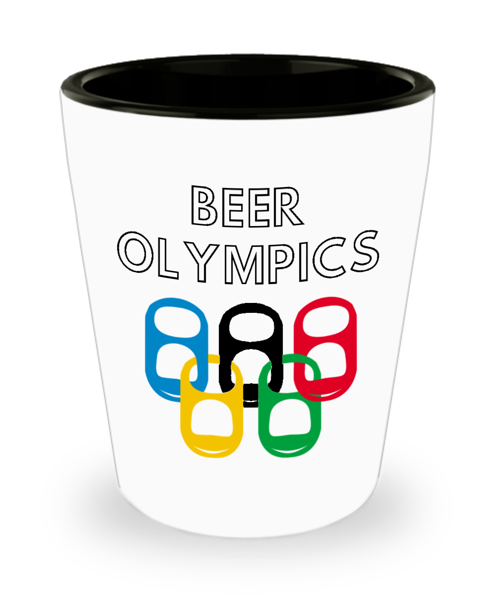 Beer Olympics Drinking Game Shot Glass