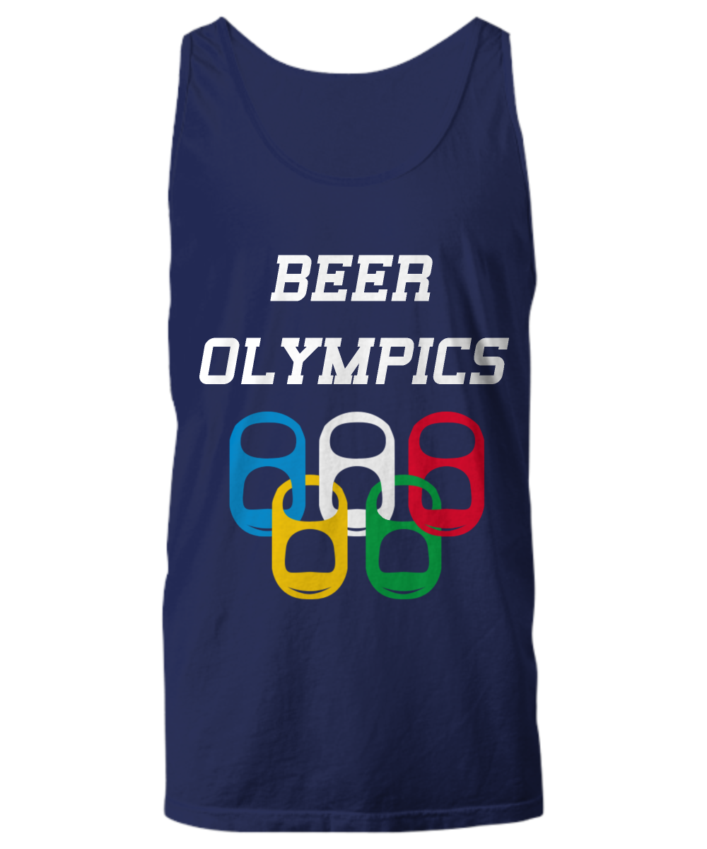 Beer Olympics Drinking Game Sport Tank Top USA