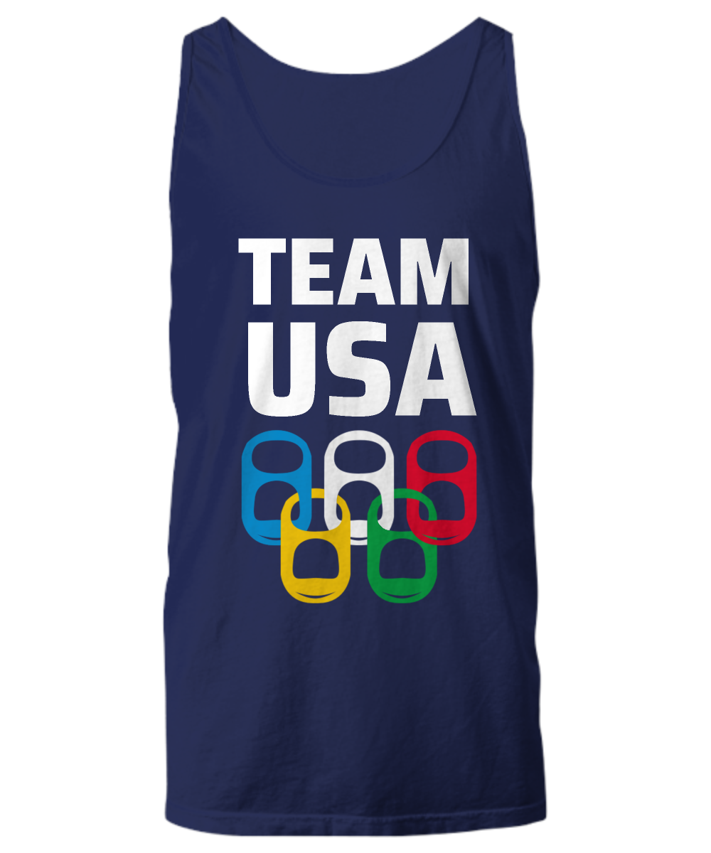 Team USA Drinking Game Sport Tank Top Team USA Theme