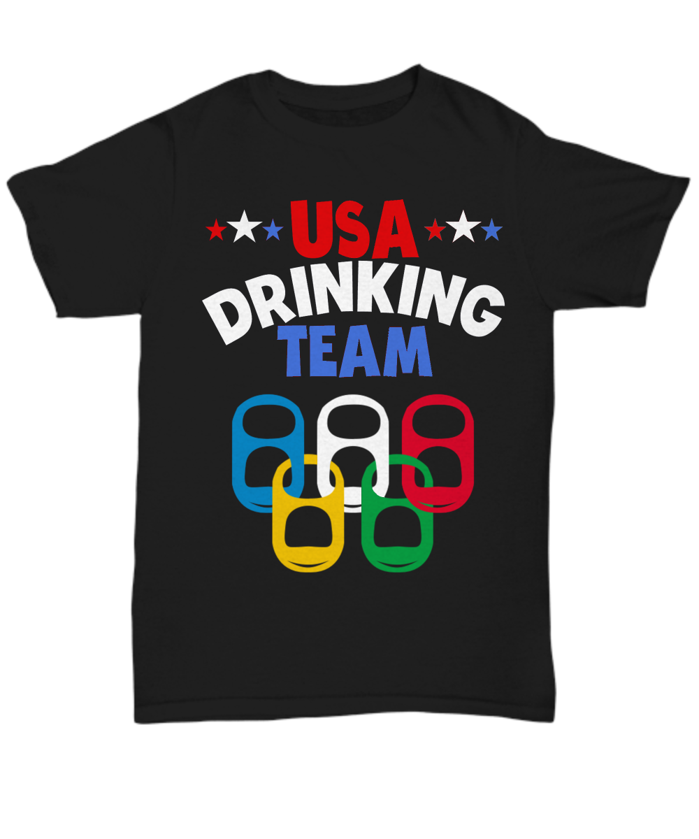 Beer Olympics Drinking Game Party T-Shirt