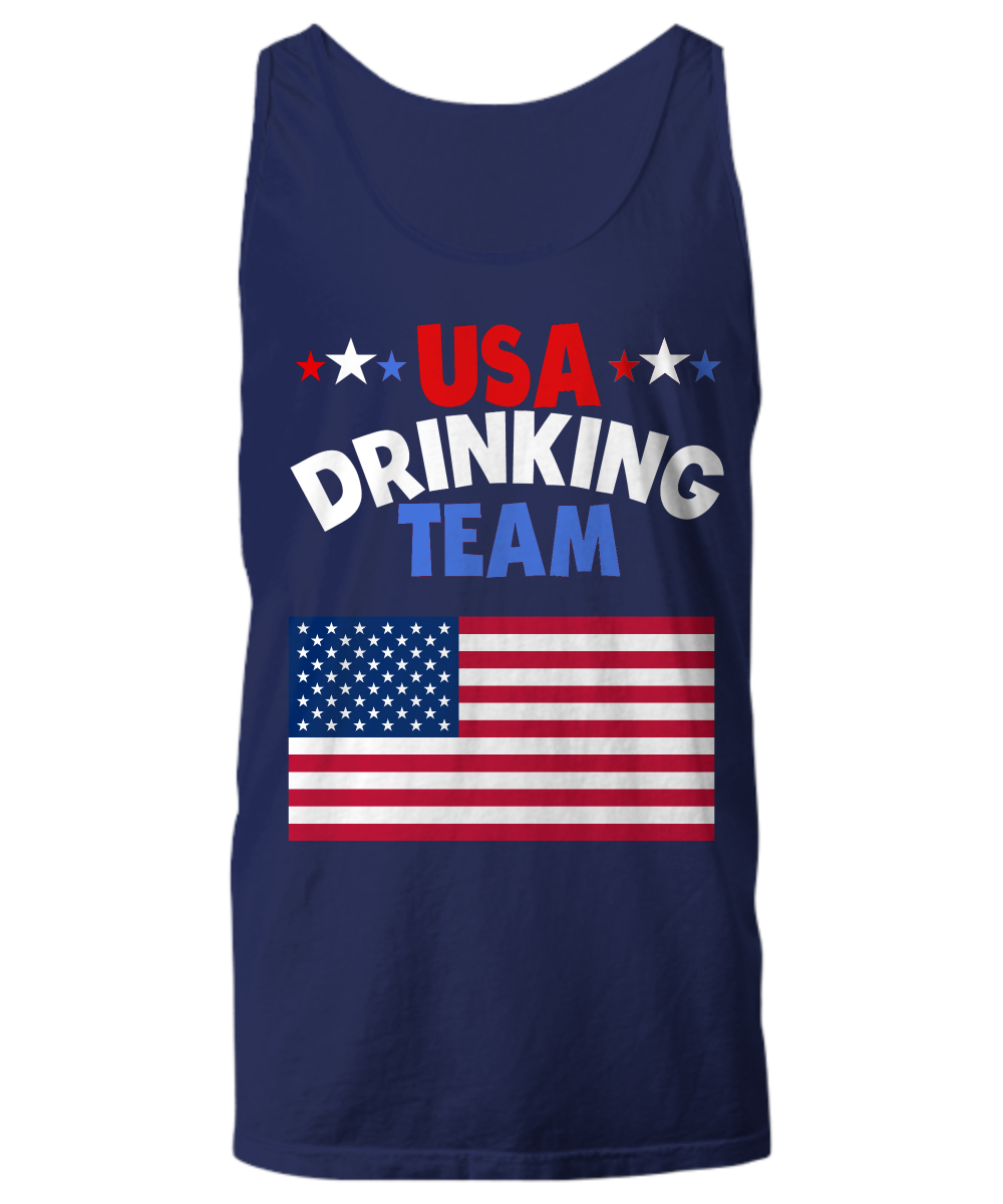 USA Drinking Team Sport Tank Top For Party People