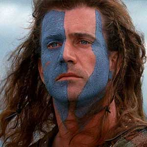 Braveheart Drinking Game