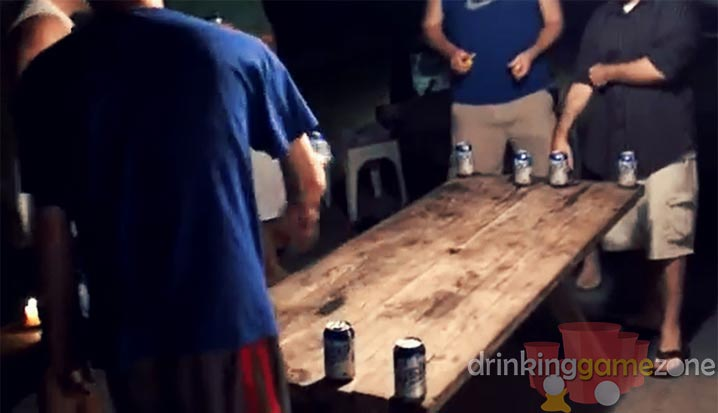 Ball Drinking Game - Four corners drinking game