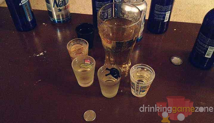 Chandeliers coin drinking game mozeypictures Images