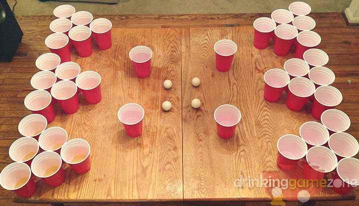 Civil War Drinking Game - Four corners drinking game