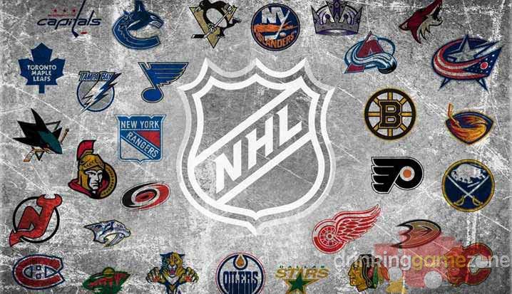 National Hockey League Nhl Drinking Game
