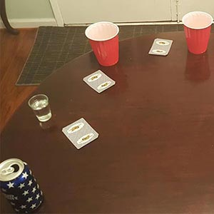 52 Black-Out Drinking Game