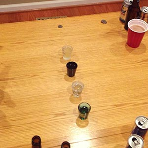 Baseball (Coin) Drinking Game