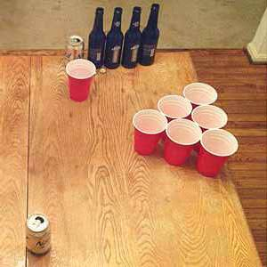 Beer Pong (Beirut) Drinking Game
