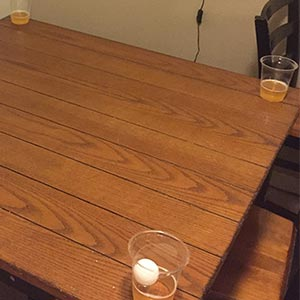 Corner Cups Drinking Game