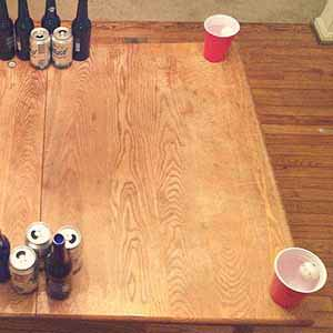 Corners Drinking Game