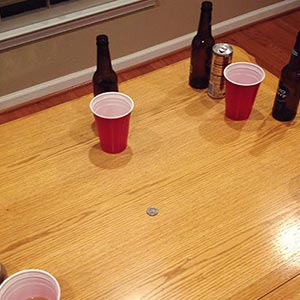 Flip, Sip, or Strip Drinking Game