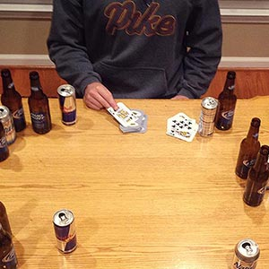 Fuck the Dealer Drinking Game