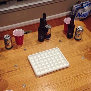 Icetray Quarters Drinking Game