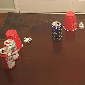 Liar's Dice Drinking Game
