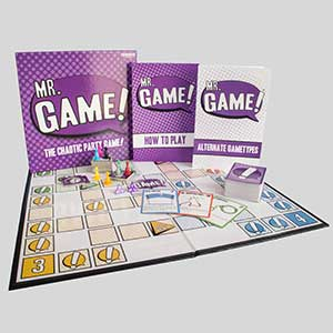 Mr. Game! Drinking Game