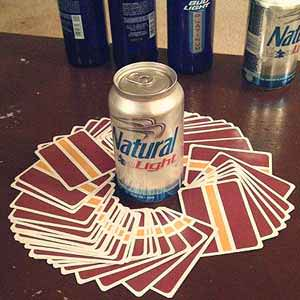 Pick a Card Drinking Game