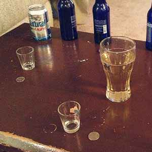 Quarters Drinking Game