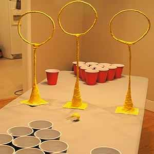 Quidditch Pong Drinking Game