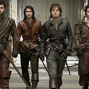 The Musketeers Drinking Game